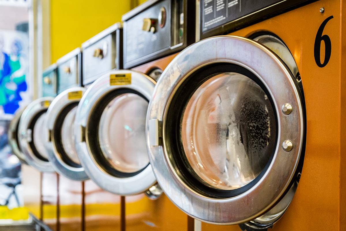 Laundromat Washing machines